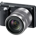 Sony-Alphs NEXF3 With Lens